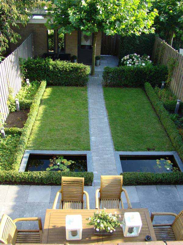 23 small backyard ideas how to make them look spacious and Small garden ideas