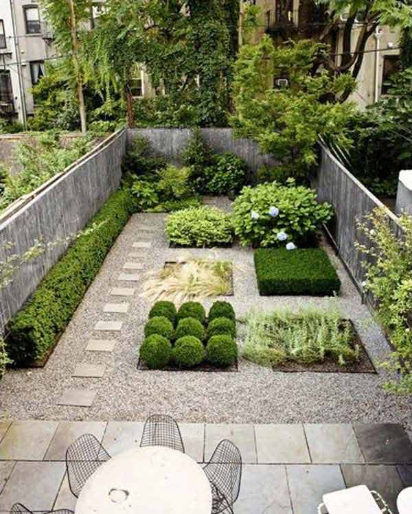 23 Small Backyard Ideas How to Make Them Look Spacious and ... on Small Yard Landscaping Ideas id=61537