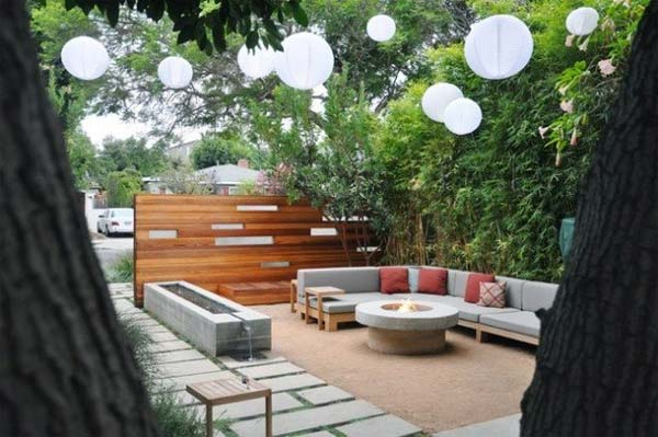 23 small backyard ideas how to make them look spacious and for Contemporary backyard landscaping ideas