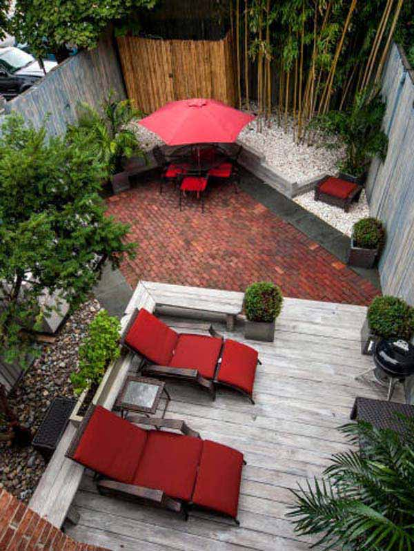 23 small backyard ideas how to make them look spacious and Small backyard designs pictures