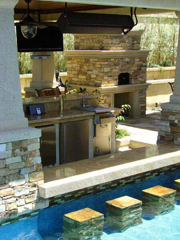 summer pool bar ideas 1