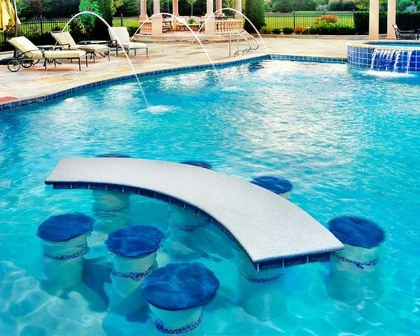 summer pool bar ideas 18