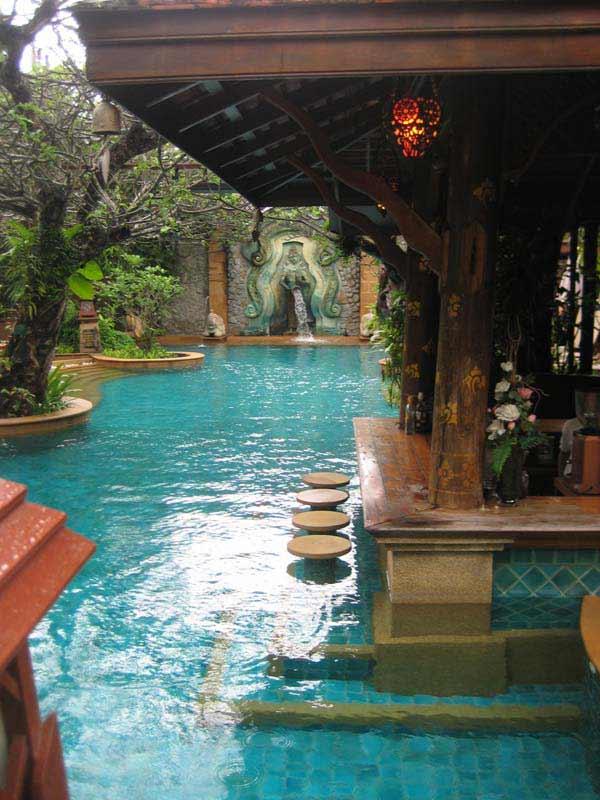 26 Summer Pool Bar Ideas to Impress Your Guests - Amazing ... on Backyard Pool Bar Designs id=89248