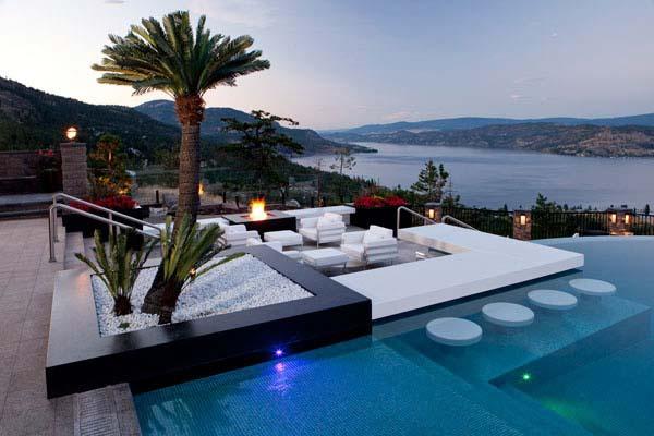 26 Summer Pool Bar Ideas to Impress Your Guests - Amazing ... on Backyard Pool Bar Designs id=44056