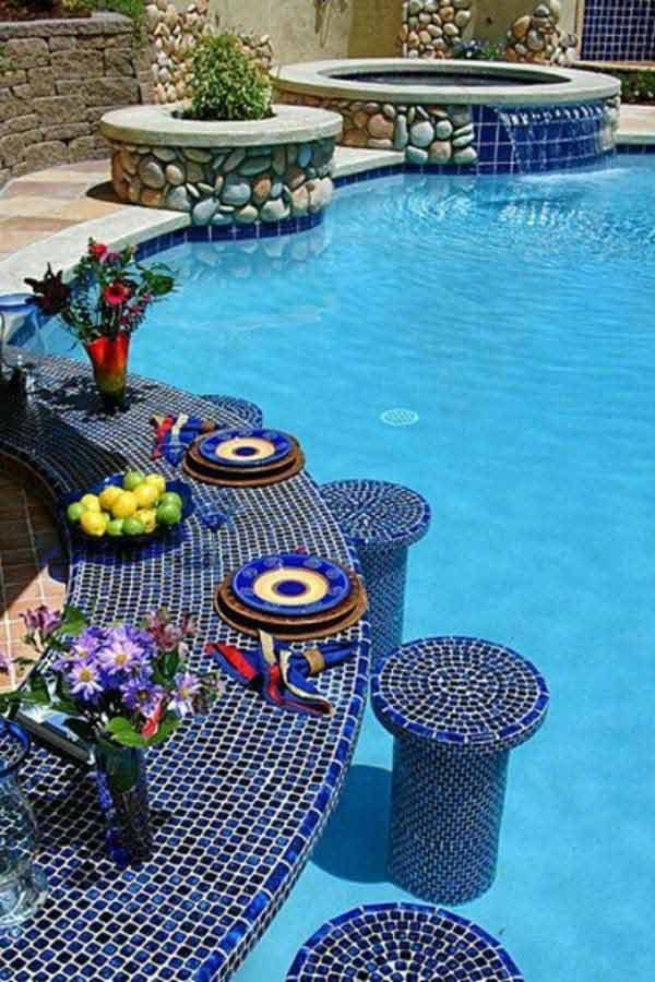 summer pool bar ideas 3