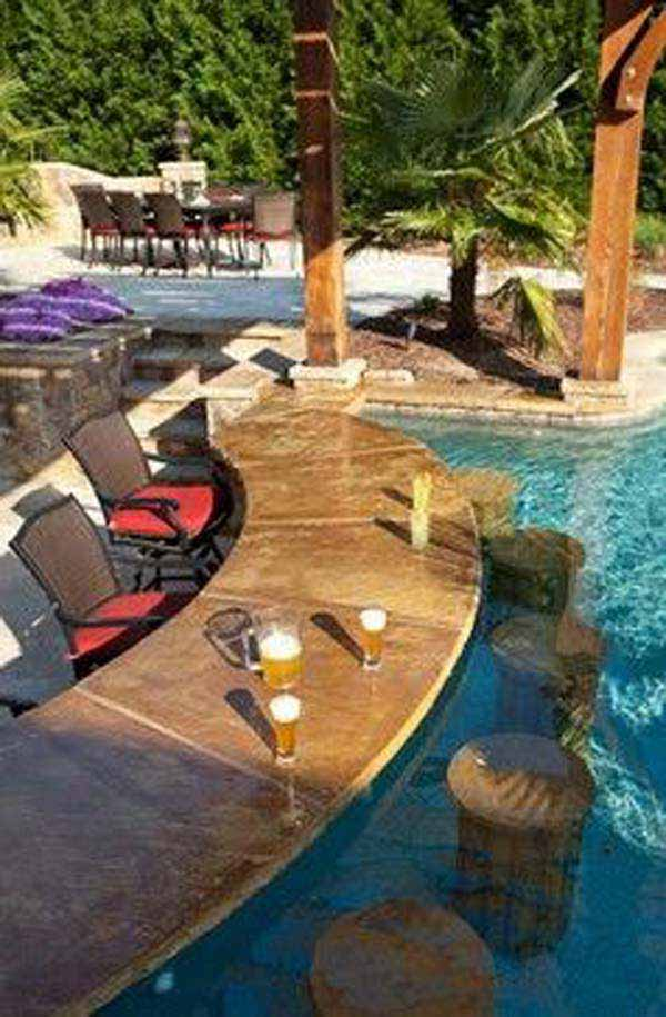 summer pool bar ideas 7