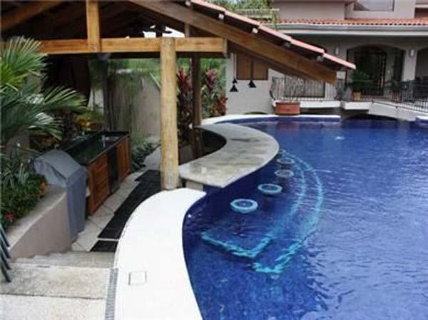 26 Summer Pool Bar Ideas to Impress Your Guests - Amazing ... on Backyard Pool Bar Designs id=78188