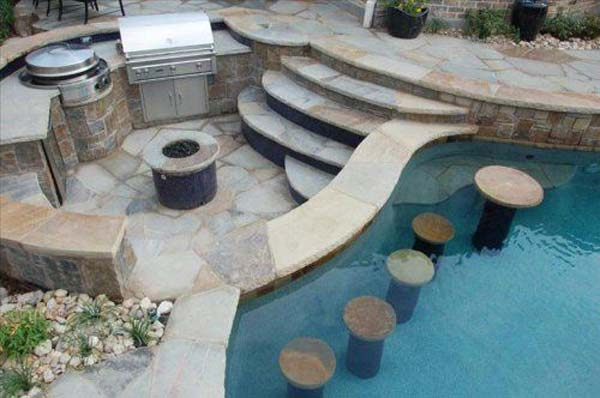 summer pool bar ideas 9