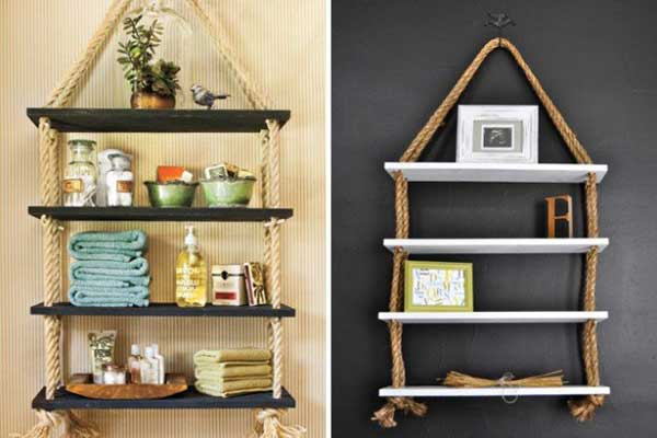 diy home decor with rope 26 - Ideas For Home Decorations