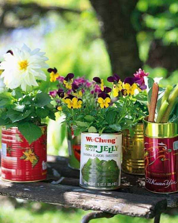 21 Budget Friendly Cool Diy Home Bar You Need In Your Home: 24 Whimsical DIY Recycled Planting Pots On The Cheap