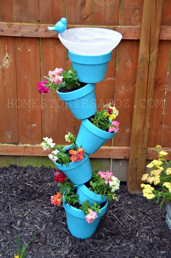 24 Whimsical DIY Recycled Planting Pots on the Cheap