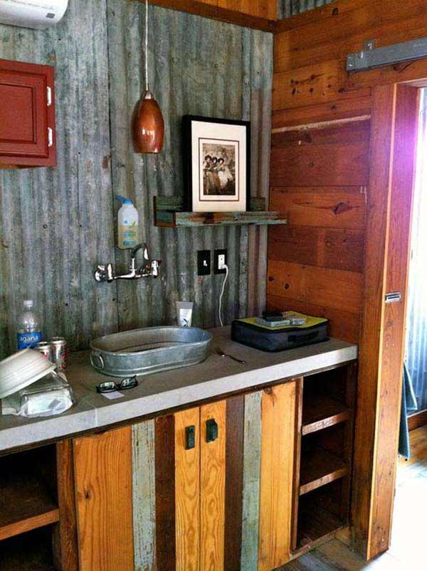 rustic bathroom ideas 11 - Bathroom Ideas Rustic