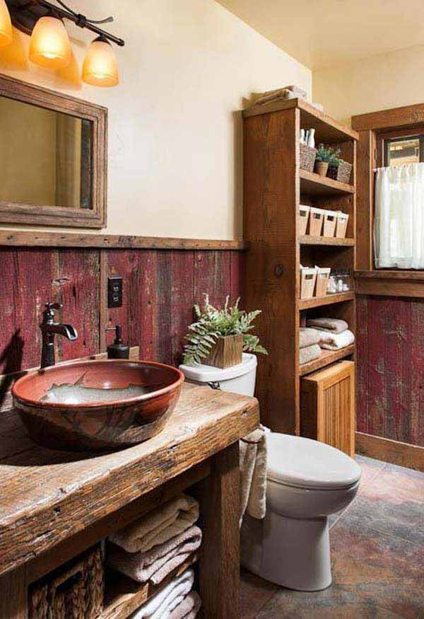 Bathroom Decor Ideas Rustic 30 inspiring rustic bathroom ideas for cozy home