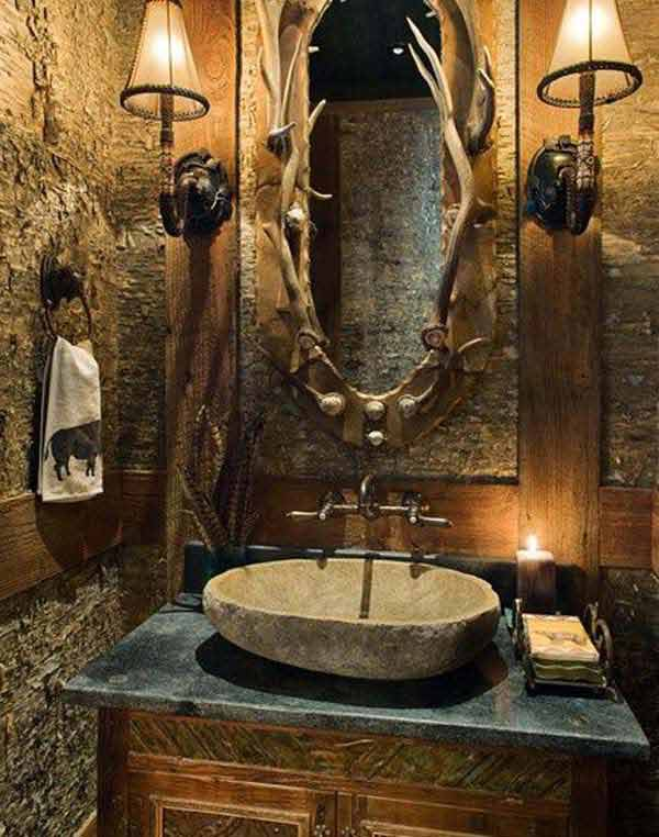 ... Rustic Bathroom Ideas 18