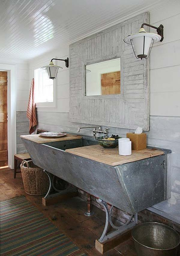 Industrial Bathroom Decorating Ideas 30 inspiring rustic bathroom ideas for cozy home