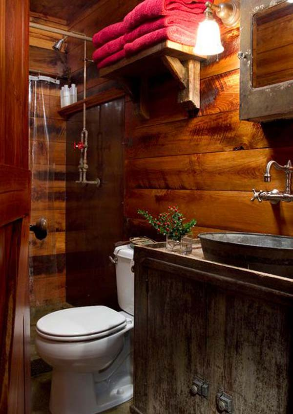 rustic bathroom design ideas 30 inspiring rustic bathroom ideas for cozy home amazing diy interior home design 8804
