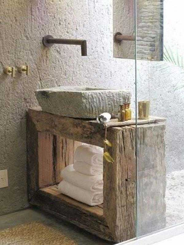 rustic bathroom ideas 6