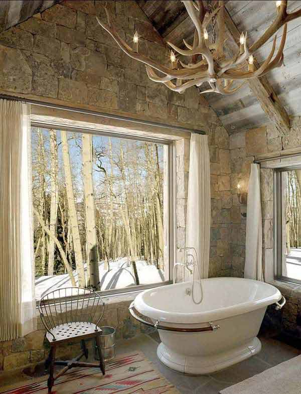 Rustic Bathroom Ideas 8