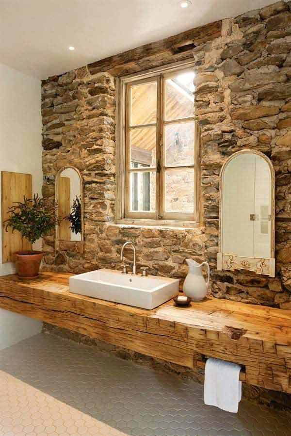 rustic bathroom ideas 9