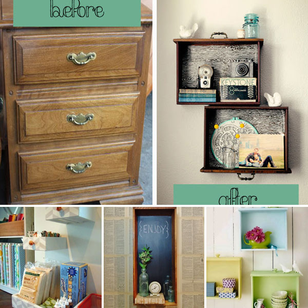 DIY-dresser-drawers-into-shelves