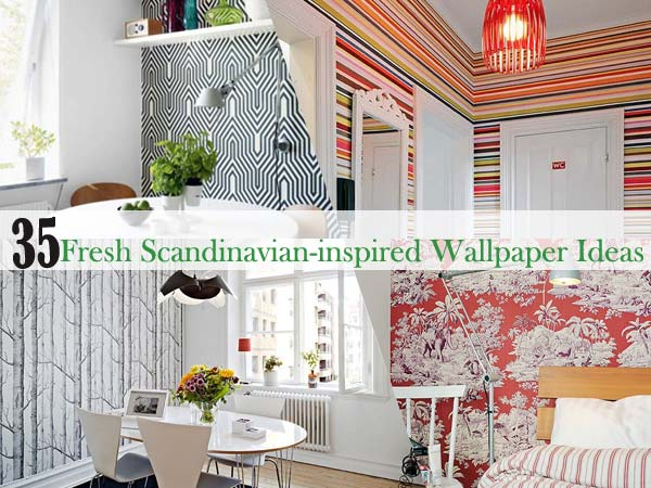 Scandinavian Wallpaper Interior Decorating and Home Design Ideas