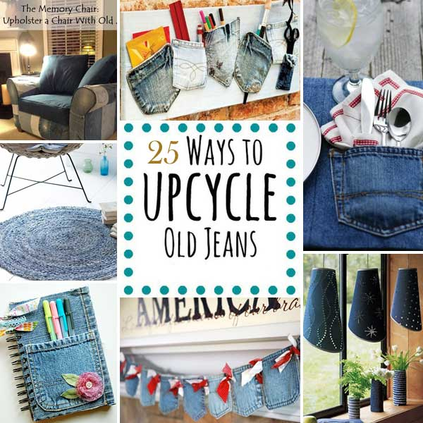Top 25 Cool DIY Ways To Upcycle Old Denims Amazing