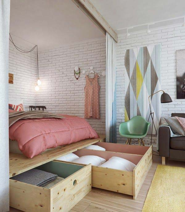 20 Tiny Bedroom Hacks Help You Make the Most of Your Space ...