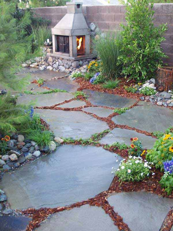 41 Inspiring Ideas For A Charming Garden Path - Amazing ... on Backyard Walkway Ideas id=43702