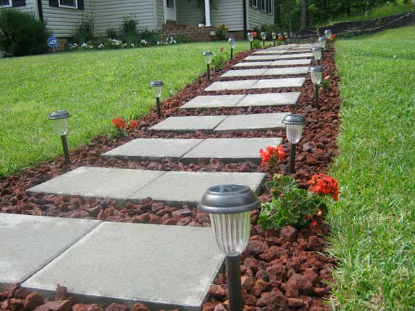 41 Inspiring Ideas For A Charming Garden Path - Amazing ... on Backyard Walkway Ideas id=93107