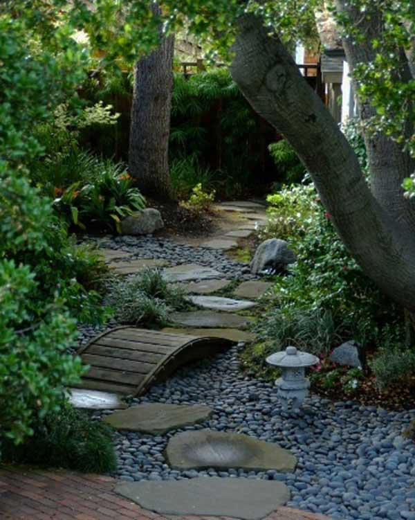 41 Inspiring Ideas For A Charming Garden Path - Amazing ... on Backyard Patio Landscaping id=34048