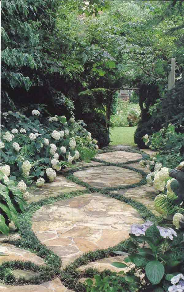 Enchanting Small Garden Landscape Ideas With Stepping Walk: 41 Inspiring Ideas For A Charming Garden Path