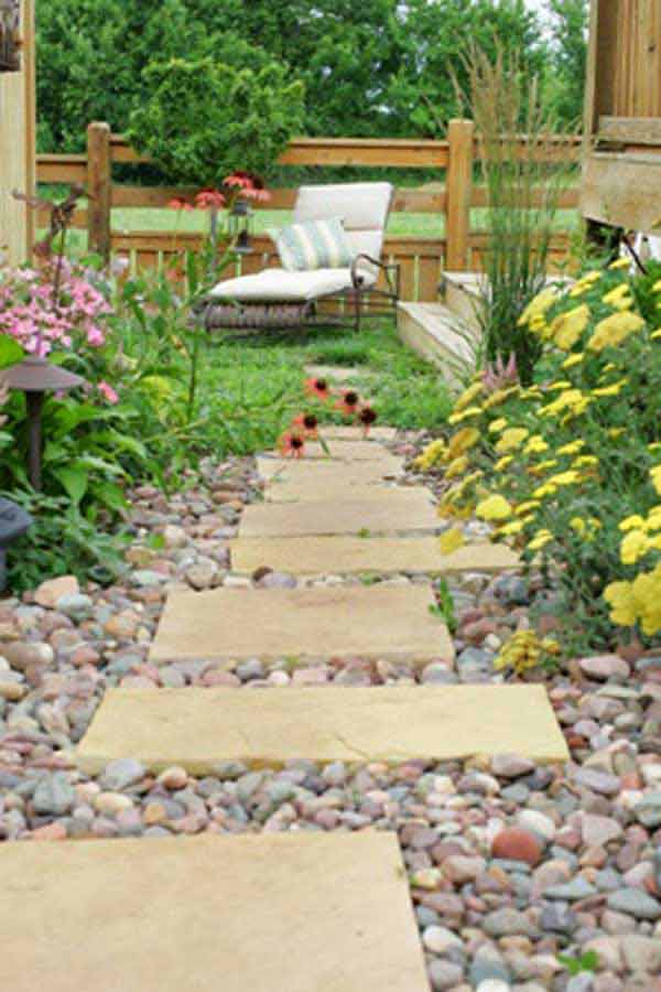 41 Inspiring Ideas For A Charming Garden Path - Amazing ... on Small Walkway Ideas id=53811