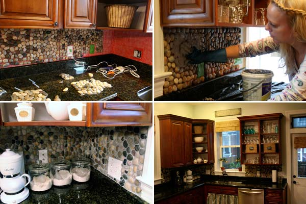 diy kitchen backsplash 1 - Easy Backsplash Ideas For Kitchen