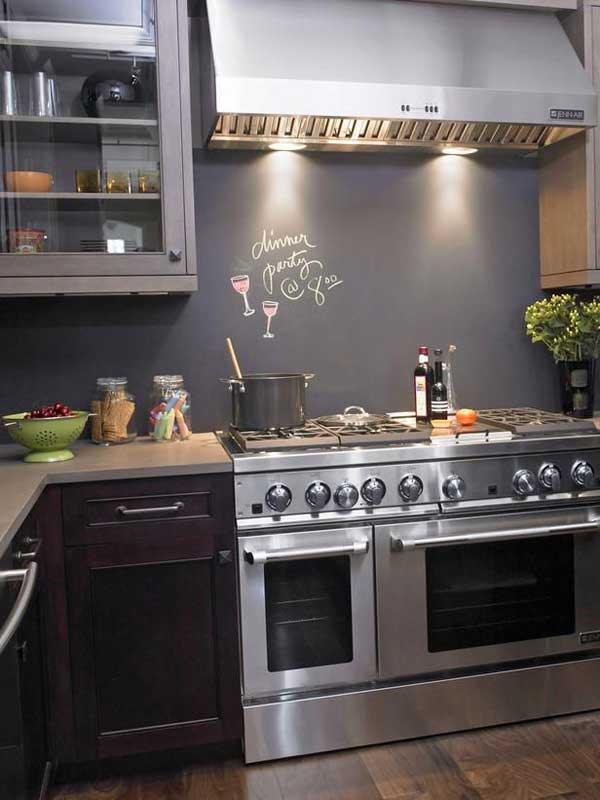 24 lowcost diy kitchen backsplash ideas and tutorials - Easy Backsplash Ideas For Kitchen