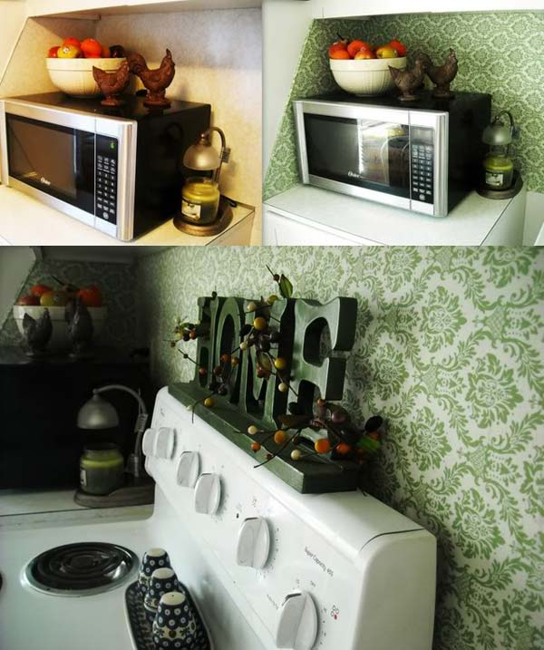 DIY-Kitchen-Backsplash-10 Paint Diy Kitchen Backsplash Ideas on diy plexiglass backsplash kitchen, diy stove backsplash ideas, diy kitchen countertops, diy tub surround ideas, diy tuscan kitchen ideas, diy painted backsplash ideas, diy backyard desert landscaping, diy kitchen ideas ideas, diy table tops ideas, diy glass backsplash ideas, diy peel and stick backsplash, diy tutorial painted backsplash, diy kitchen hood ideas, diy kitchen ceiling ideas, diy kitchen mosaic backsplash, diy kitchen wallpaper ideas, diy kitchen shelf ideas, diy kitchen fasade backsplash, diy kitchen redesign, diy beadboard kitchen backsplash,