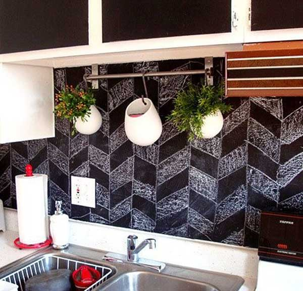 Low Cost Backsplash