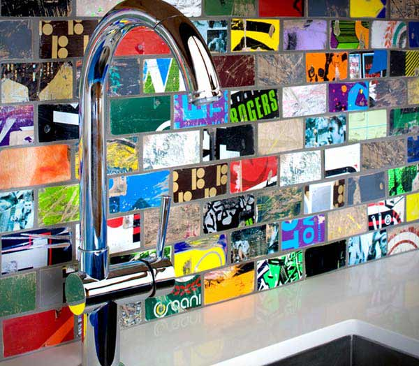 Diy Mosaic Tile Kitchen Backsplash Diy Kitchen Backsplash 9