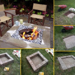 Square Fire Pit You Can Build Yourself