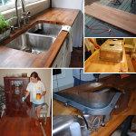 DIY Budget-Friendly Butcher Block Countertops