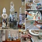 Adorable Bottles Photo Frame You Can Make