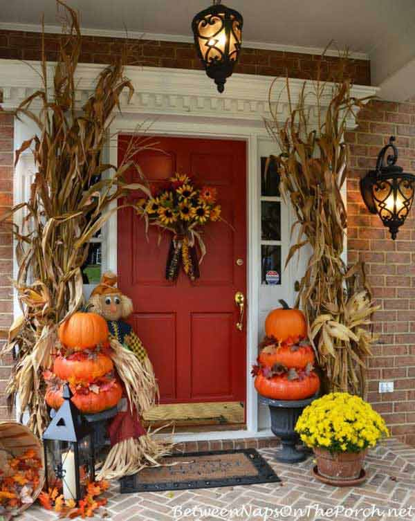 halloween porch ideas 1 - How To Decorate Outside For Halloween