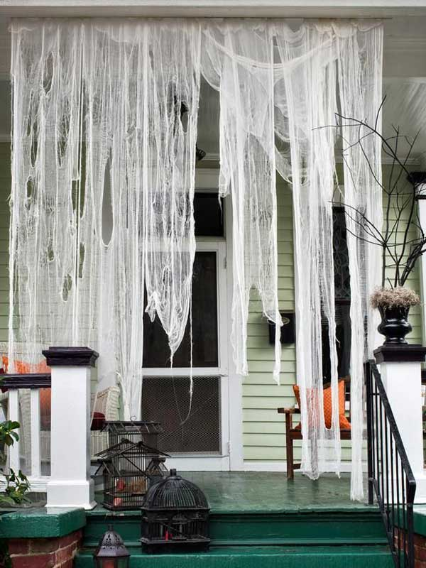 halloween porch ideas 2 - How To Decorate Outside For Halloween