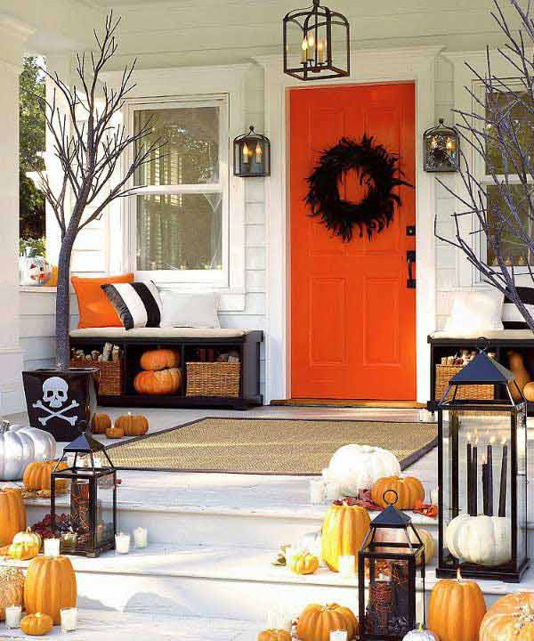 halloween porch ideas 29 - How To Decorate Outside For Halloween