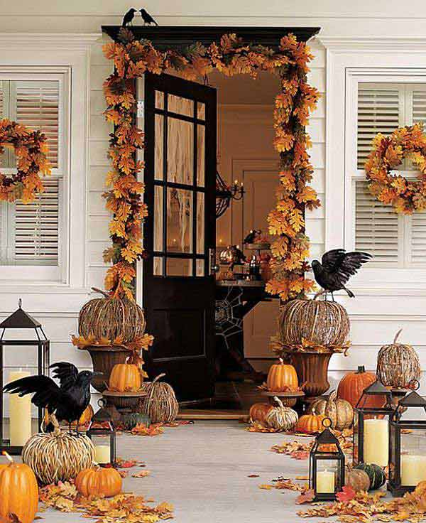 halloween porch ideas 33 - How To Decorate Outside For Halloween