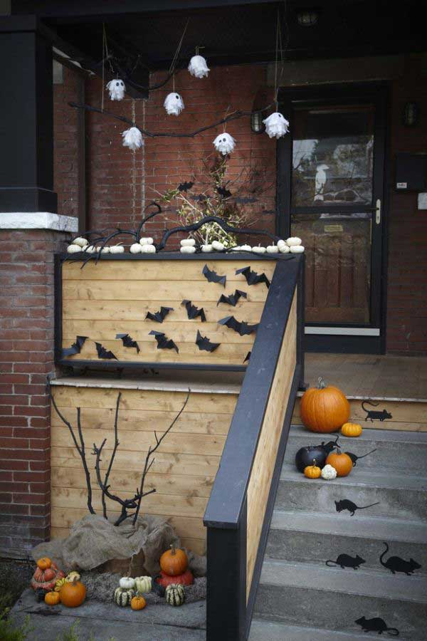 Top 41 Inspiring Halloween Porch D 233 Cor Ideas
