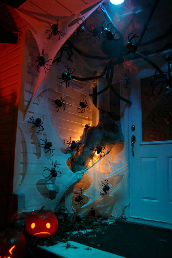 Top 41 inspiring halloween porch d cor ideas amazing diy for 90 cool outdoor halloween decorating ideas