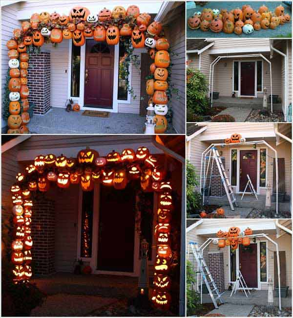 halloween porch ideas 5 - Easy To Make Halloween Decorations For Outside