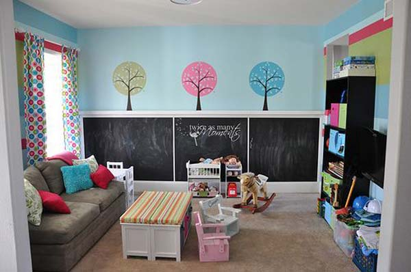 chalkboards in kids rooms 11 - Children S Bedroom Paint Ideas