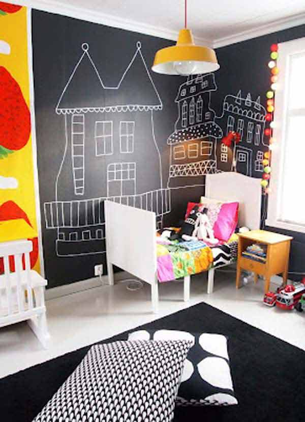 Chalkboards In Kids Rooms 29