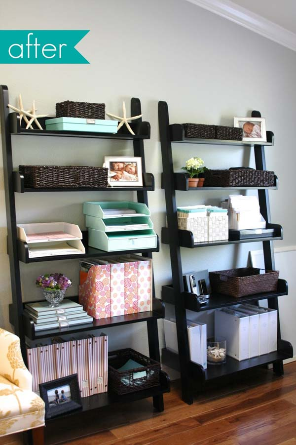 top 40 tricks and diy projects to organize your office. Black Bedroom Furniture Sets. Home Design Ideas